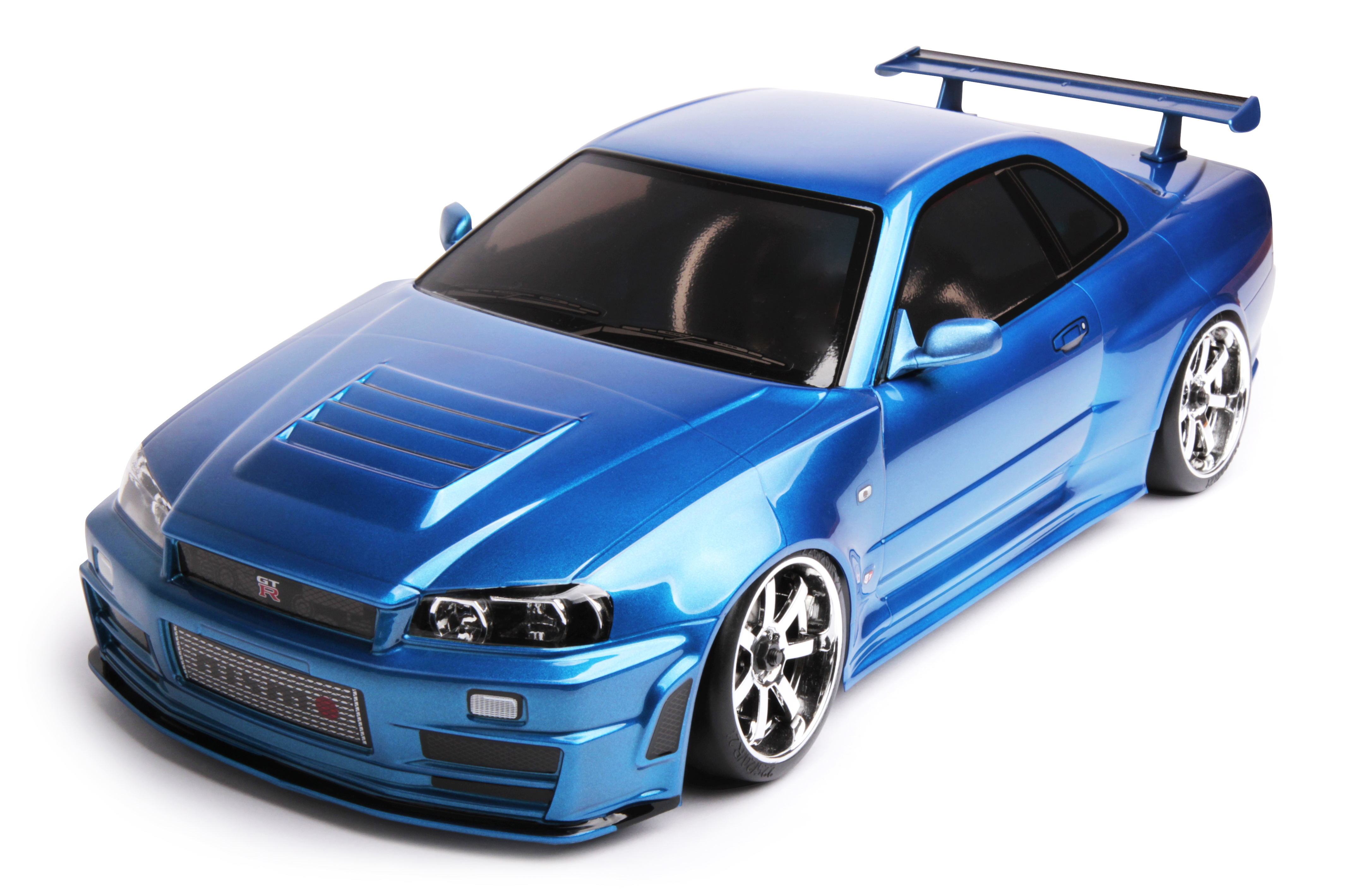 FXX-D 1/10 Scale 2WD RTR Electric Drift Car (2.4G) (brushless) NISSAN R34 GT-R