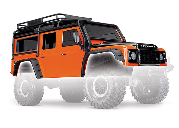 Кузов TRX-4 Land Rover Defender (orange)