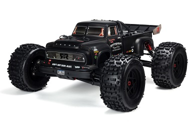 Монстр 1:8 ARRMA Notorious 6S 4WD Brushless RTR (черный)