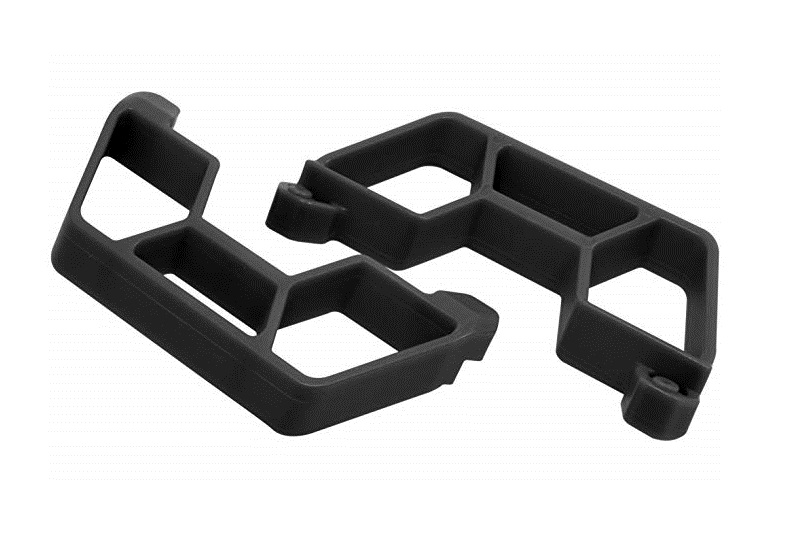 Nerf Bars for the Traxxas Slash 2wd LCG Chassis - Black