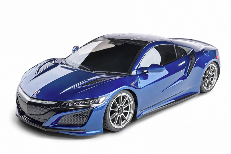 FXX-D 1/10 Scale 2WD RTR Electric Drift Car (2.4G) (brushless) HONDA NSX (blue)