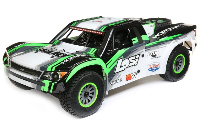 Шорт-корс трак Losi 1:6 Super Baja Rey Brushless 4WD (AVC), электро, RTR (черный)