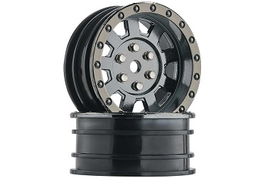 Диски колесные Duratrax Crawler Wheel 1.9 Black Chrome (2)