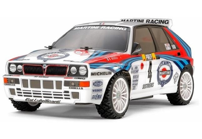 FXX-D 1/10 Scale 2WD RTR Electric Drift Car (2.4G) (brushless) LANCIA DELTA INTEGRALE