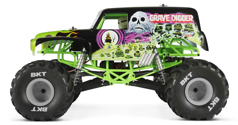 AXIAL SMT10 Grave Digger 4WD 1/10 RTR