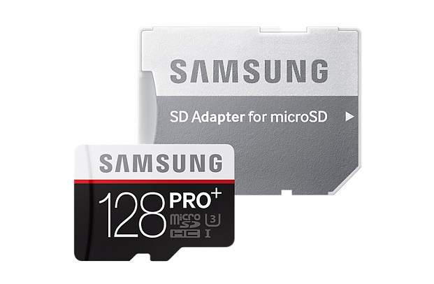 Карта памяти Samsung microSDXC PRO Plus 128GB 95MB/s + SD adapter