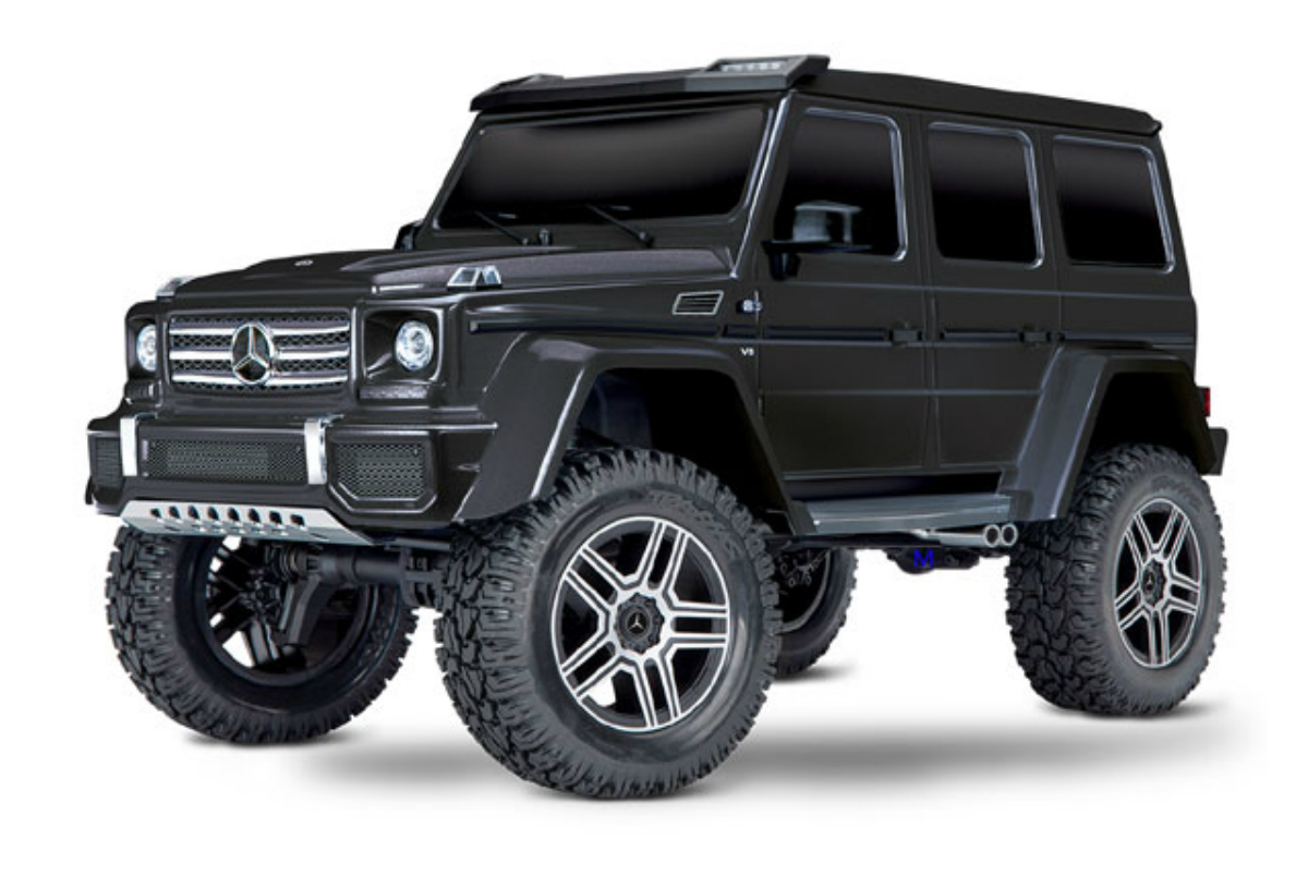 Радиоуправляемый трофи Traxxas TRX-4 Mercedes G 500 1:10 4WD Scale and Trail Crawler