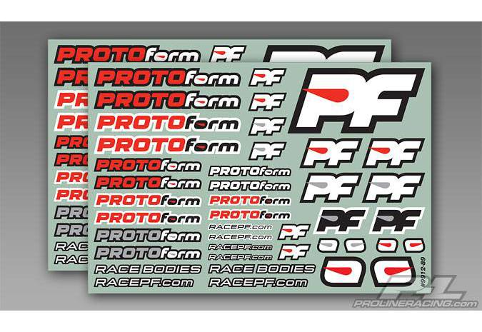 Декали PROTOform Team Decals