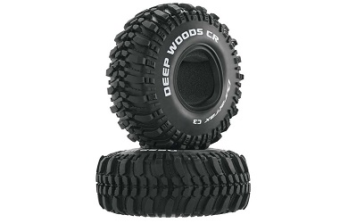 Резина Duratrax 1:10 Deep Woods CR 1.9'' Crawler Tire C3 (2)
