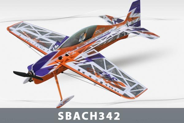 Самолет Techone SBACH 342 HCF Depron KIT
