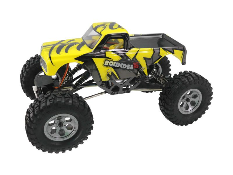 Р/У краулер Himoto Bounder16 4WD 2.4G 1/16 RTR + Ni-Mh и З/У