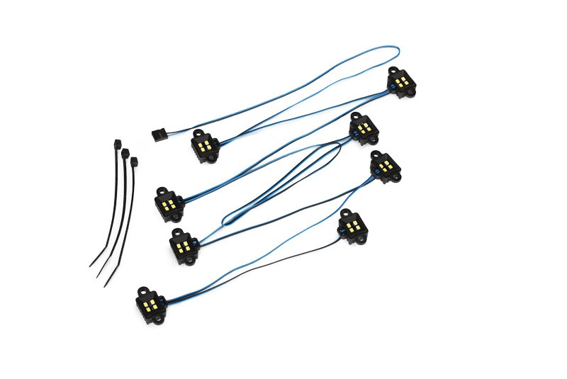 LED rock light kit, TRX-4® (requires #8028 power supply and #8018, #8072, or #8080 inner fenders)