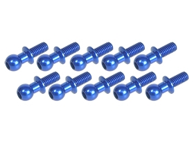 4.8MM Ball Stud L=10 (10 pcs) - Blue