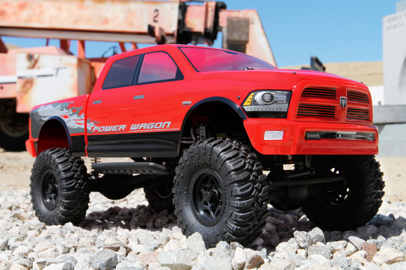 AXIAL SCX10 RAM POWER 4WD 1/10 RTR