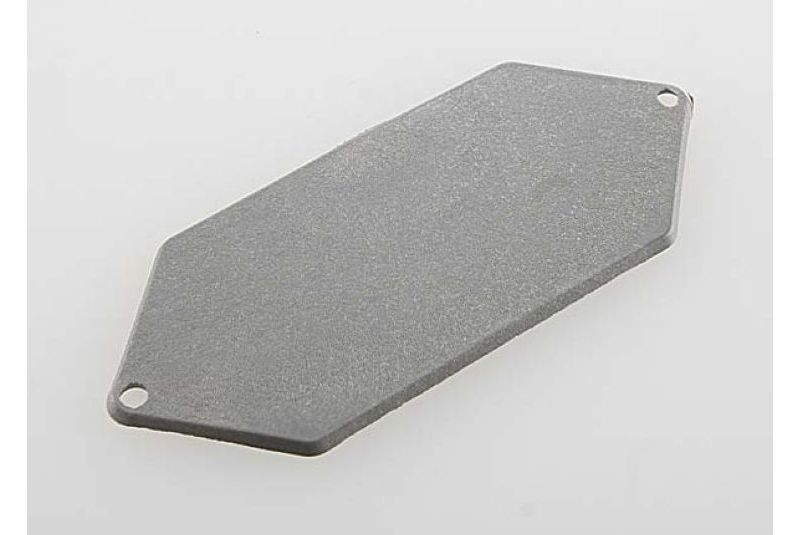 Mounting plate, receiver (grey)
