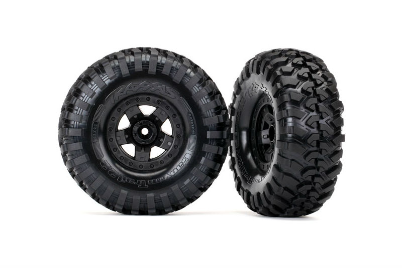 Колеса в сборе TRX-4 Sport wheels + Canyon Trail 2.2 tires TRA8181