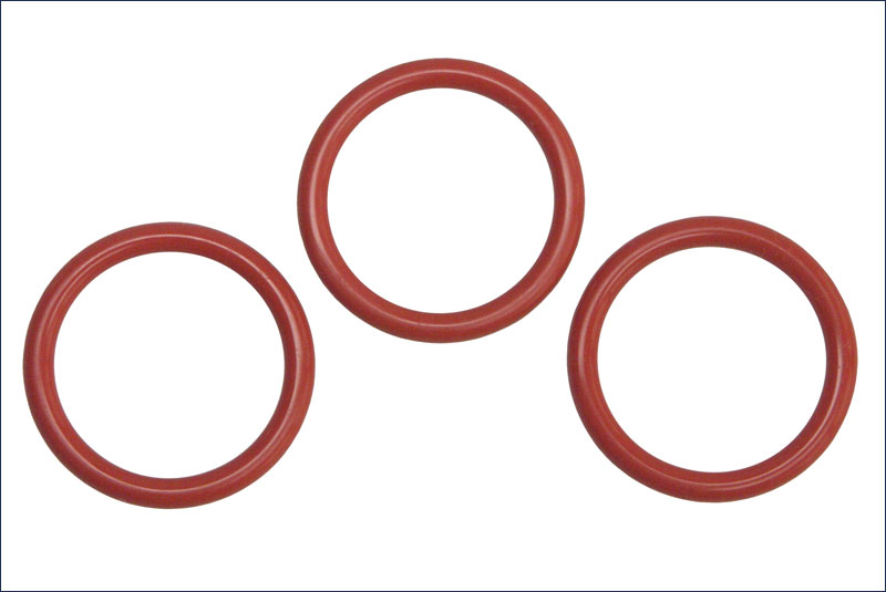 Kyosho ORG18 SILICONE O-RING (P18/ORANGE/3pcs)