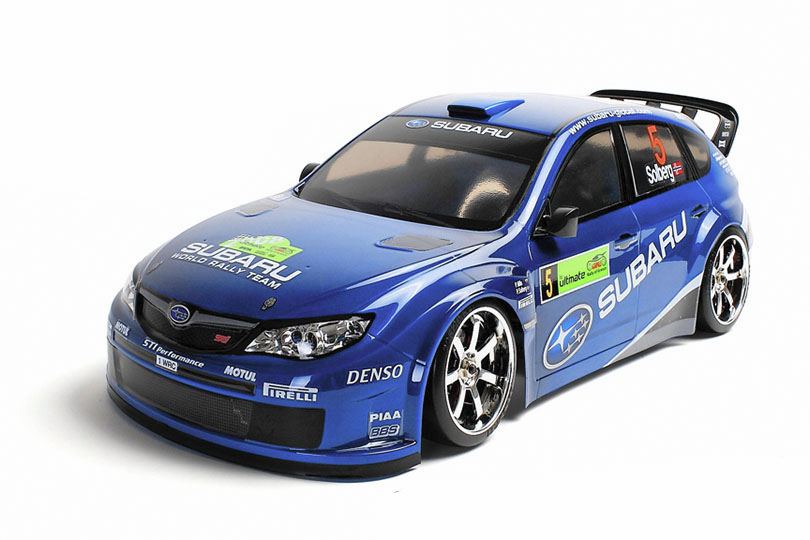 FXX-D 1/10 Scale 2WD RTR Electric Drift Car (2.4G) (brushless) SUBARU IMPREZA WRС