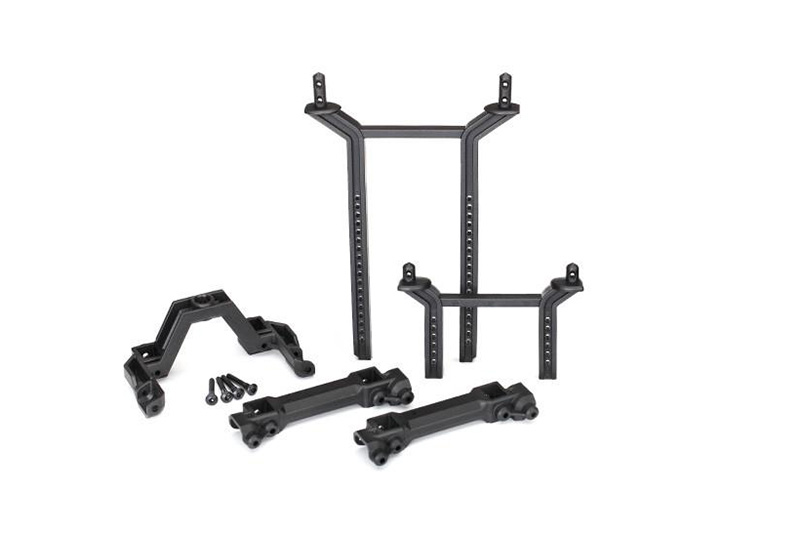 Traxxas TRX-4 Front and Rear, Body Mount and Post Set