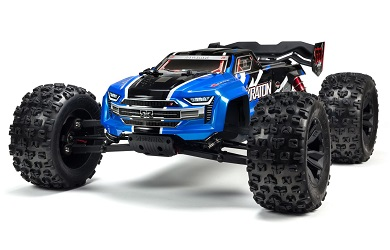 Монстр 1:8 ARRMA Kraton 6S 4WD BLX Speed Monster Truck RTR Blue