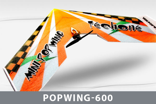 Самолет Techone Mini Popwing-600 EPP COMBO