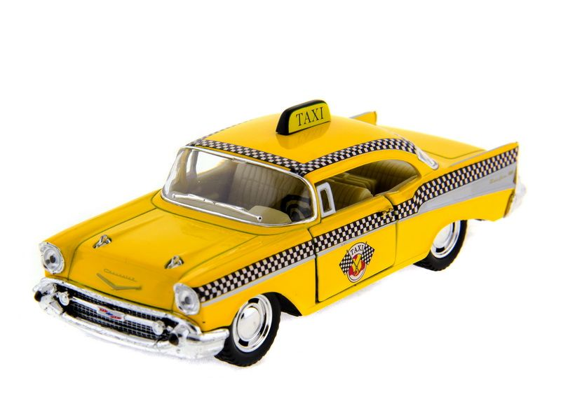 Машина Kinsmart 1957 Chevrolet Bel Air инерция (1/12шт.) 1:36 б/к