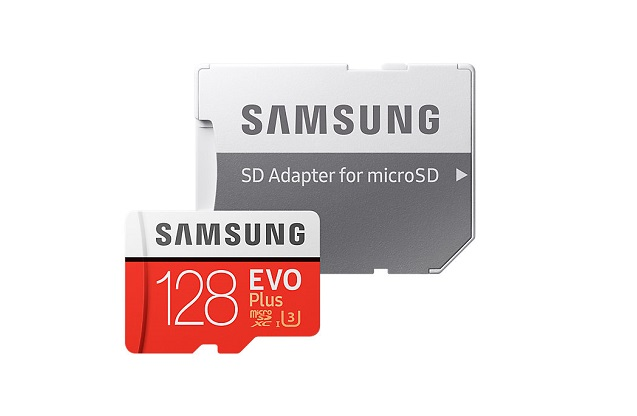 Карта памяти Samsung microSDXC EVO Plus 128GB 90MB/s + SD adapter