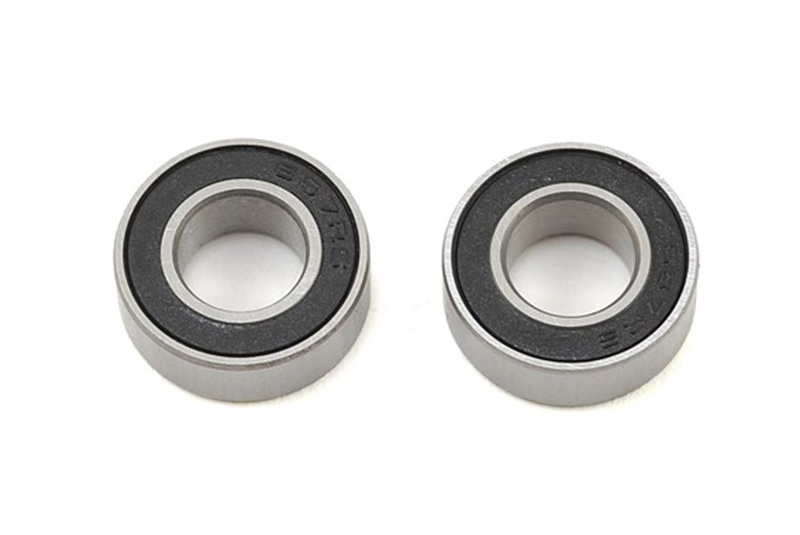 BALL BEARINGS, BLACK RUBBER SE