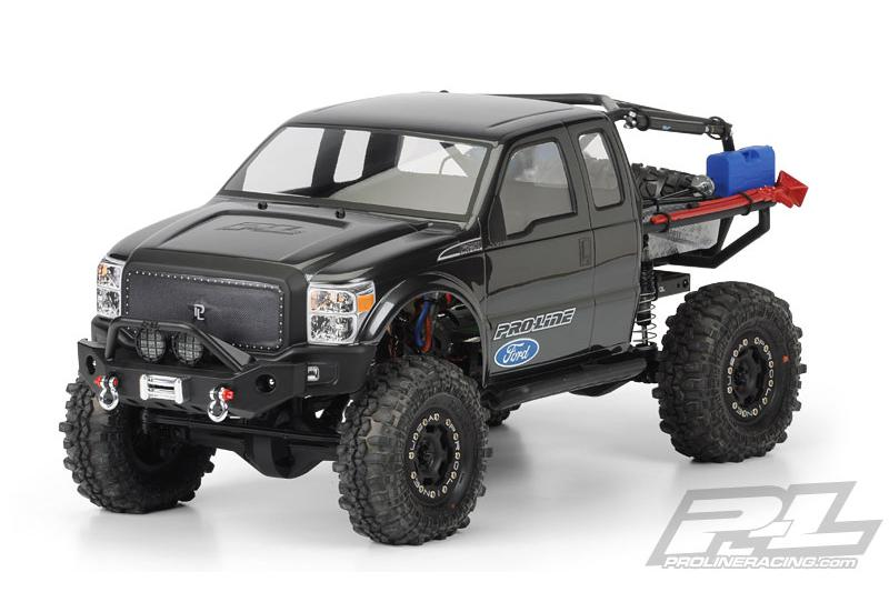 Кузов краулер 1/10 - Ford F-250 Super Duty Cab for Axial SCX10 Trail Honcho