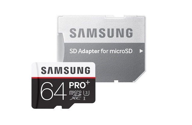 Карта памяти Samsung microSDXC PRO Plus 64GB 95MB/s + SD adapter