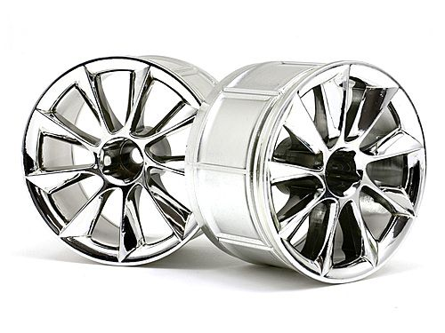 Диски туринг 1/10 - LP35 ATG RS8 CHROME (2шт)