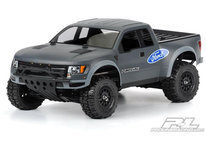 Кузов SC 1/10 - Ford F-150  Raptor SVT (for Slash, Slash 4X4, and SC10) некрашеный