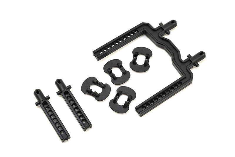 Traxxas 4-Tec 2.0 Front and Rear Body Mount Set