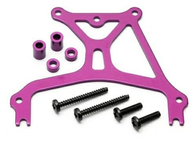 Распорка задняя ALUMINIUM REAR BRACE 2.0MM SET (PURPLE/PRO 3)