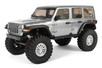 Модель для трофи 1:10 SCX10 III Jeep JLU Wrangler with Portals 4WD Kit