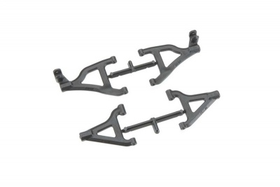 RPM Front A-Arms Black 1/16 Traxxas Slash 4X4