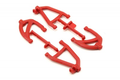 RPM Rear A-Arms Red 1/16 Scale